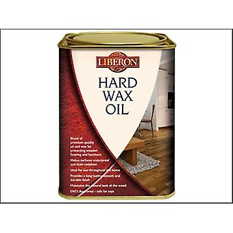 Liberon Hard Wax Oil Clear Satin 1 Litre
