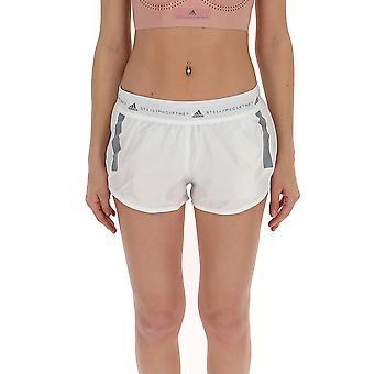 Adidas By Stella Mccartney White Polyester Shorts