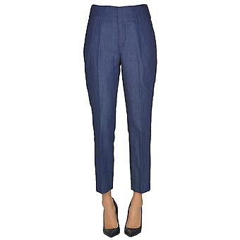 Dondup Blue Cotton Pants