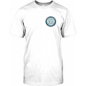 National Security Agency - NSA-Brust-Logo-Herren-T-Shirt
