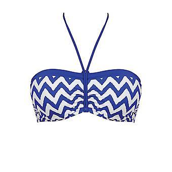Freya Making Waves As2948 W Underwired Bandeau Bikini Top Cobalt (Cot) Cs