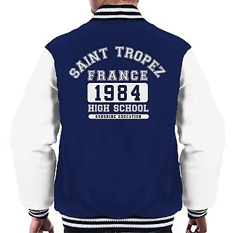 Saint Tropez High School Men's Varsity Jacket