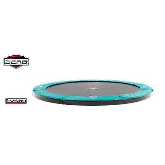 BERG FlatGround Champion 330 11ft Trampoline Sports Series Green