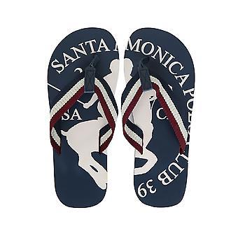 Santa Monica Navy Flip Flops
