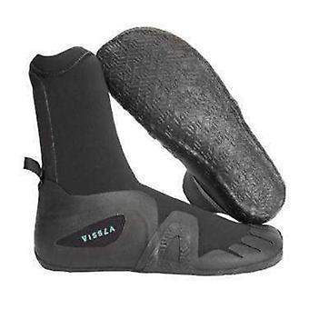 Vissla 7 seas 5mm round toe wetsuit boot