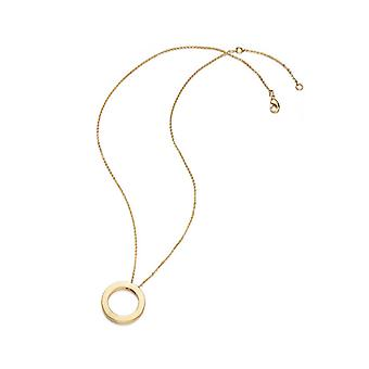 Kaytie Wu Gold Plated Circle Necklace  28067