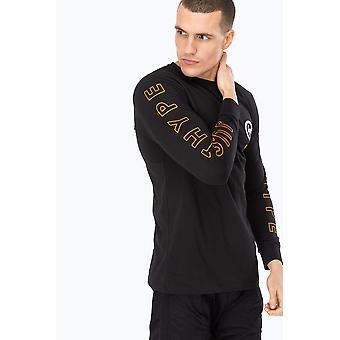 Hype X COD Black Nuketown mannen L/S T-shirt