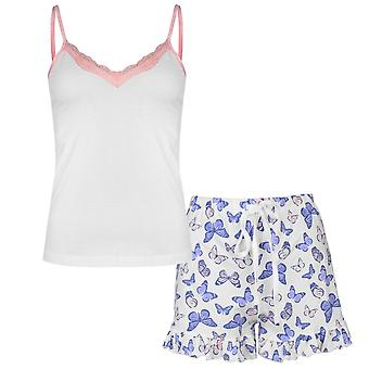 Rock and Rags Mujeres Señoras Bfly Cami Set