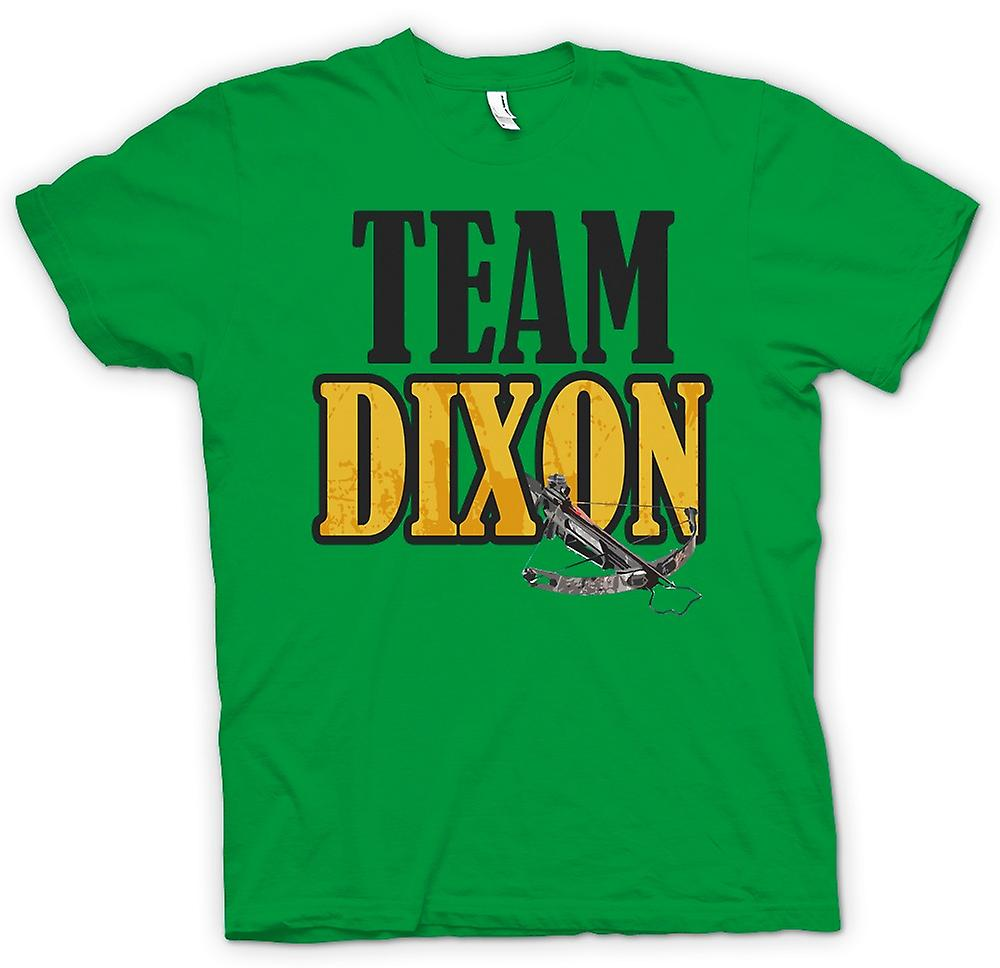 Mens T-shirt-Team Dixon - Armbrust - lustig