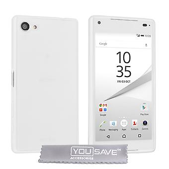 Yousave Accessories Sony Xperia Z5 Compact 0.6mm UltraThin Clear Gel Case