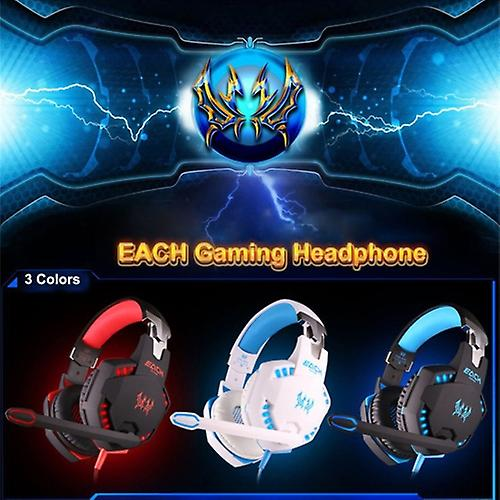 Kotion Each G2100 Gaming Headset Med Vibrationsfunktion