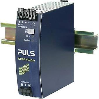 PULS DIMENSION QS5.241 Rail mounted PSU (DIN) 24 Vdc 5 A 120 W 1 x