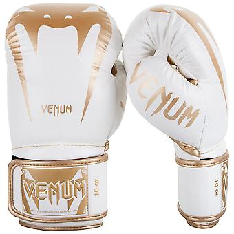 Venum Giant 3.0 boxning handskar vit/guld
