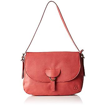 Timberland TB0M5387 Red Woman shoulder bag (Spiced Coral) 11x21x30.5 cm (W x H x L)