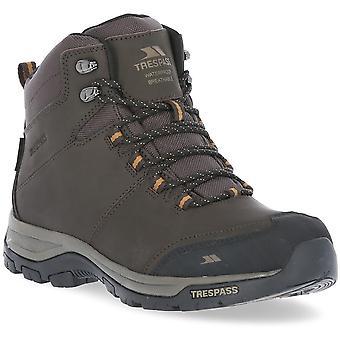 Trespass Mens Hiram Mid Cut Breathable Durable Walking Boots
