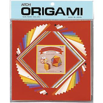 Origami Paper 60 Pkg Assorted Sizes Small Mix Og 1