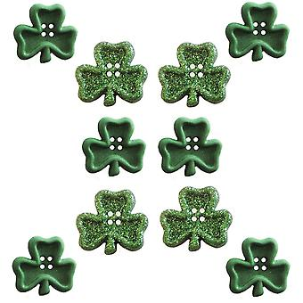 Dress It Up Embellishments Irish Charms Diubttn 3520