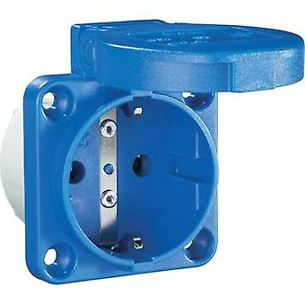 Add-on socket IP54 Blue PCE 601.45