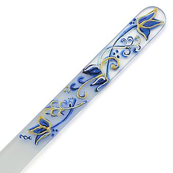 Hand painted glass nail file 303-GM15