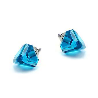 Blue stud earrings EMB 13.2