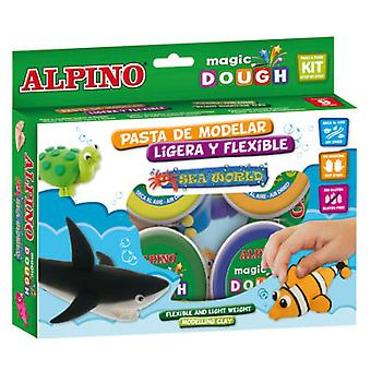 Alpino Dough Magic Marine World (Toys , Educative And Creative , Arts And Crafts , Dough)