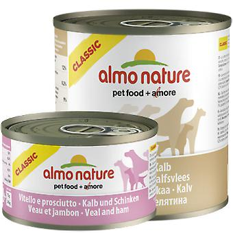 Almo nature Classic Veal and ham (Dogs , Dog Food , Wet Food)