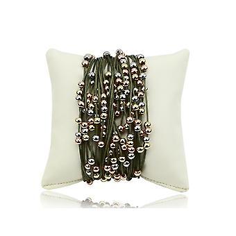 Diana multi-strand bracelet with beads