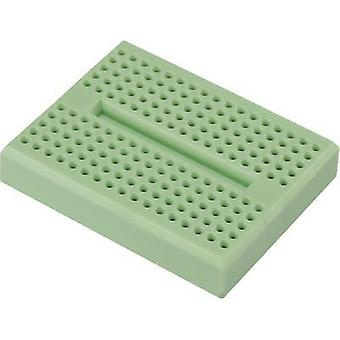 Breadboard Mint Total number of pins 170 (L x W x H) 46 x 36 x 8 mm Conrad Components 0165-4219-15-15010 1 pc(s)