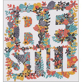 Be Still Counted Cross Stitch Kit-10.5