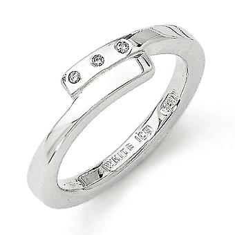 White Ice. 03 ct. Diamond Ring - Ringmaat: 6 tot en met 8