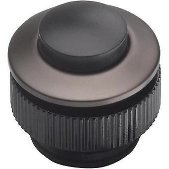 Bell button 1x Grothe 62013 Anthracite, Black 24 V/1,5 A