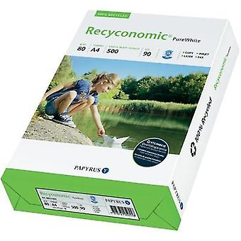 Recycled printer paper Papyrus Recyconomic 90 88031825 DIN A4 80 gm² 500 Sheet