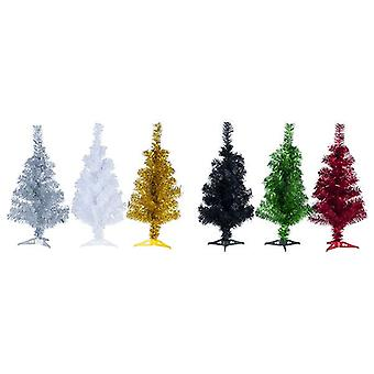 65cm Tinsel Christmas Tree Xmas Decoration