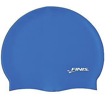 Tapa de natación FINIS silicona - azul