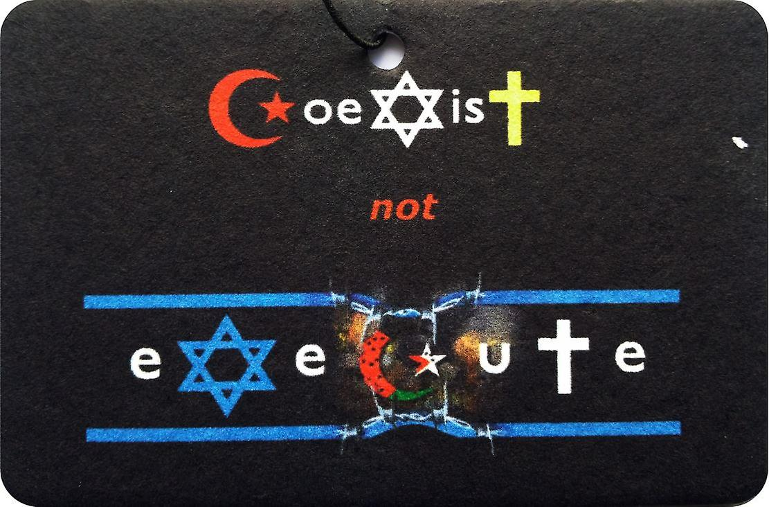 Coexist Not Execute Car Air Freshener