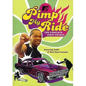 MTV Pimp min tur: Sæson 1 [DVD] USA import
