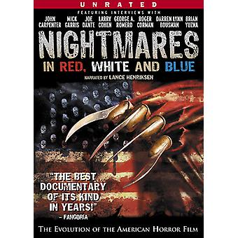 Nightmares in Red White & Blue [DVD] USA import