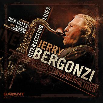 Jerry Bergonzi - krydsende linjer [CD] USA import