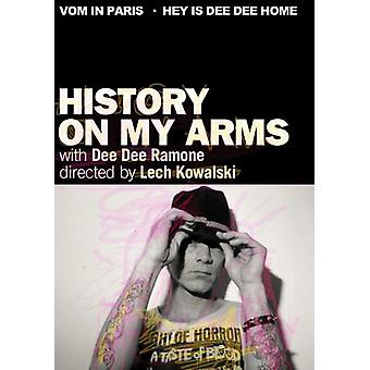 Ramone, Dee Dee - historie på My Arms [DVD] USA import