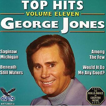 George Jones - George Jones: Importación Vol. 11-Top Hits [CD] USA