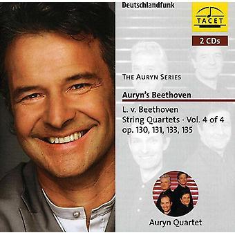 Larsen Beethoven - Beethoven: Strygekvartetter Vol. 4 [CD] USA import