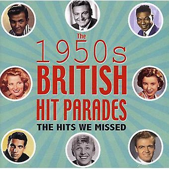 British Hit Parades: The Hits We Missed 1954-59 - British Hit Parades: The Hits We Missed 1954-59 [CD] USA import