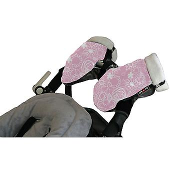 Tris & Ton Gloves Pink Print (Home , Babies and Children , Walk , Walking Accessories)