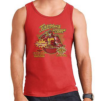 Kerosene Loops Turbo Man Jingle All The Way Cereal Men's Vest