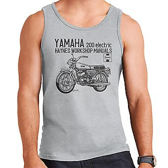 Haynes ejere Workshop Manual Yamaha 200 elektriske mænds Vest