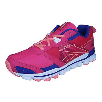 Reebok Hexaffect Run Girls Running Trainers / Shoes - Pink