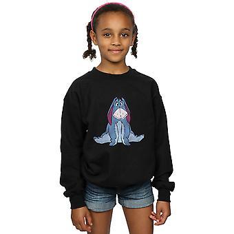 Disney Girls Winnie The Pooh Classic Eeyore Sweatshirt