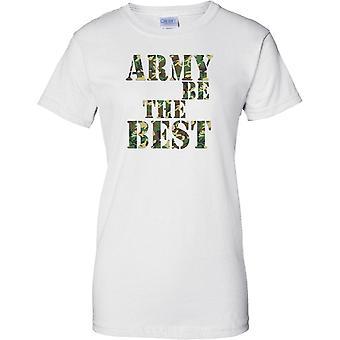 Armia jest Najlepsza - Moro - Panie T Shirt