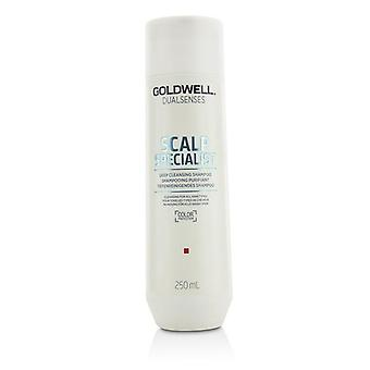 Goldwell Dual Senses Scalp Specialist Deep Cleansing Shampoo (cleansing For All Hair Types) - 250ml/8.4oz