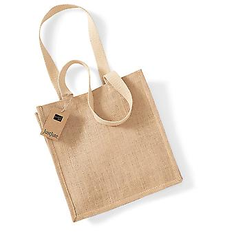 Westford Mill Jute Compact Tote Bag - 10 Litres